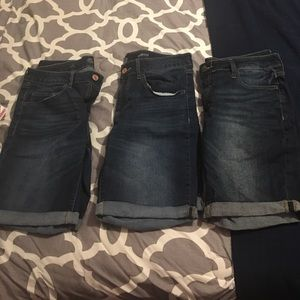 So brand jean shorts from Kohl's!